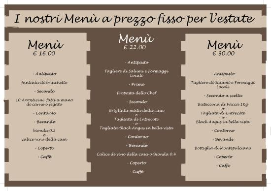 Pianella, Italy: i nostri menù a prezzo fisso
