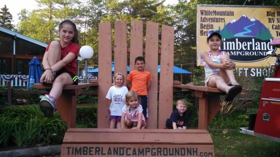 Timberland Campground: Kiddos loved the campground too!
