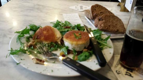 Sjinkerij De Bobbel : Salad with mascarpone