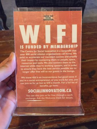 CSI Coffee Pub : Funky spot for an afternoon pick-me-up. Love the wifi policy.