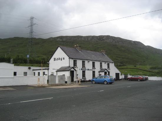 Donegal Town, Irland: Biddy's bar