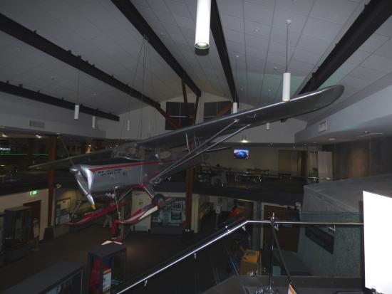 Sir Edmund Hillary Alpine Centre: Ed Hillary Alpine Centre display