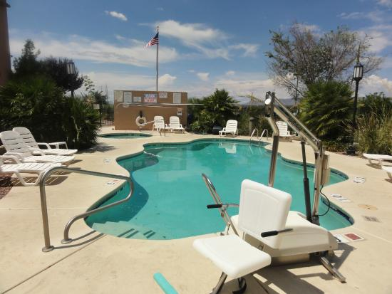 Swimming Pool And Spa Picture Of The Tombstone Grand Hotel Tombstone Tripadvisor