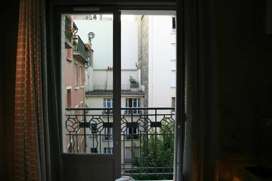 Hotel Felicien by Elegancia: The balcony of our room.