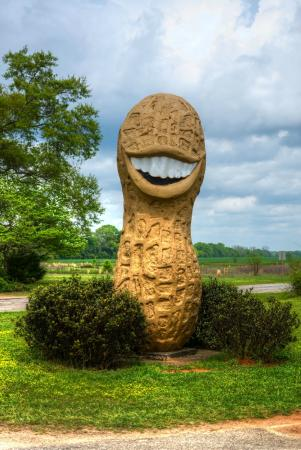 Jimmy Carter Peanut of Plains Statue: The Jimmy Carter peanut!!
