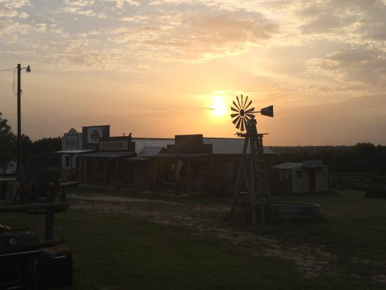 """The Hideaway Ranch & Retreat: Sunset on the """"town"""""""