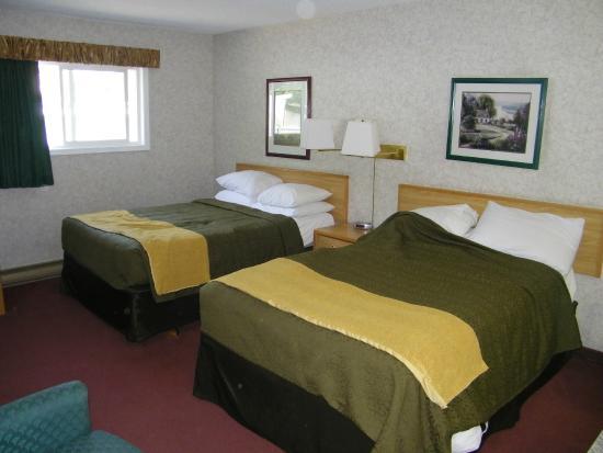 Travelodge Hope: ruime slaapkamer