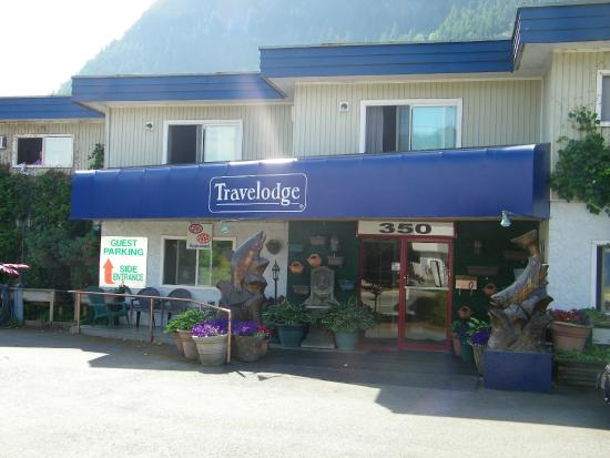 Travelodge Hope: voorkant motel