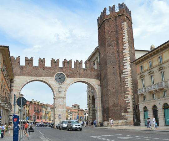 View from corso porta nuova picture of i portoni della - Mezzi pubblici verona porta nuova ...