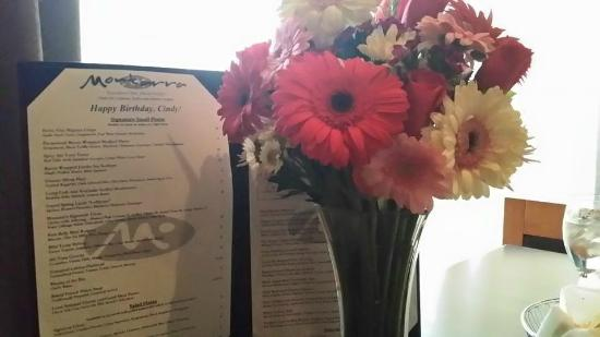 Montarra: Personalized birthday menu