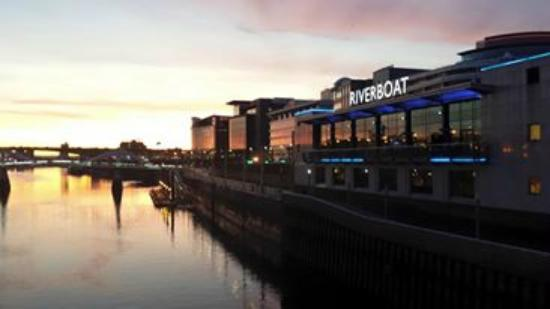 Grosvenor Casino Glasgow, Riverboat: A riverside view of our club
