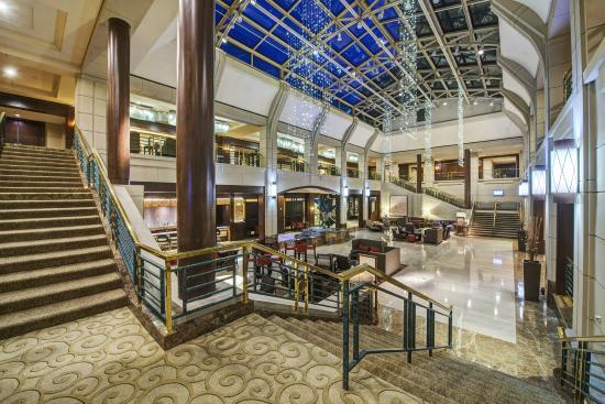 main lobby area picture of hyatt regency reston reston