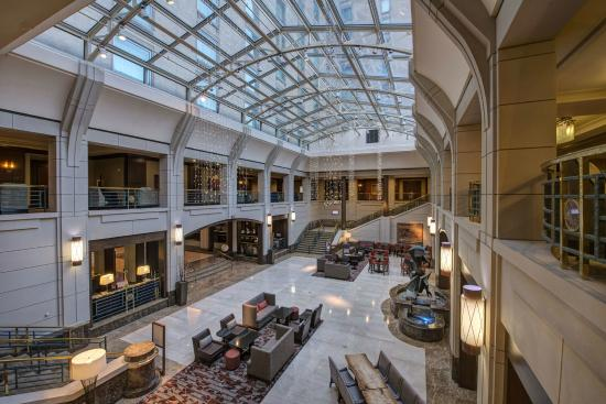 main lobby area picture of hyatt regency reston reston