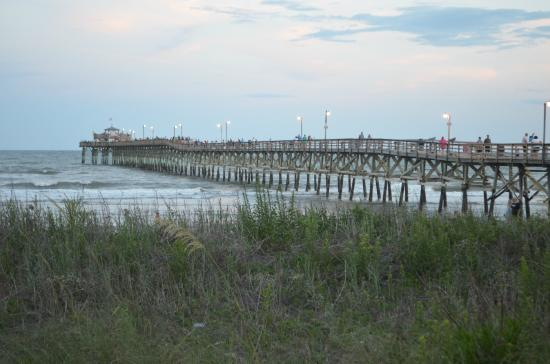 hotel POI Cherry Grove Fishing Pier Myrtle Beach South Carolina United States .