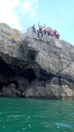 Seven Sisters, UK: Coasteering Gower Peninsula