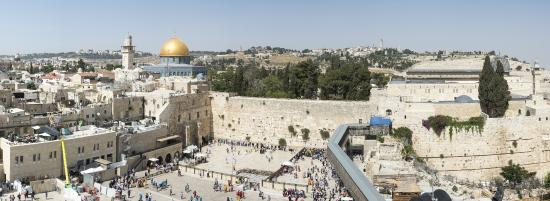 Just Jerusalem Tours -  Day Tours : Western Wall and Dome of the Rock/Temple Mount