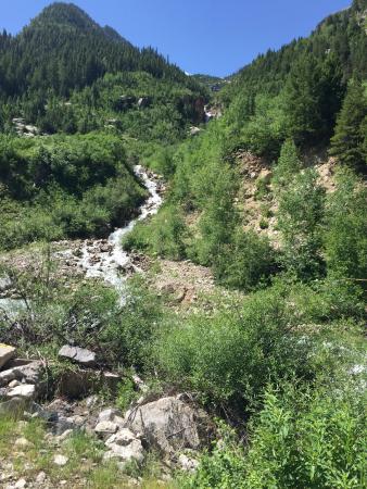 Crystal Mill: Beautiful waterfalls