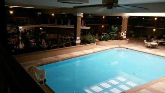Clarion Hotel and Conference Center Hagerstown: The pool in the Atrium