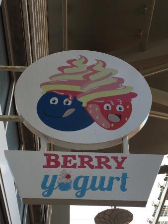 Berry yougurt