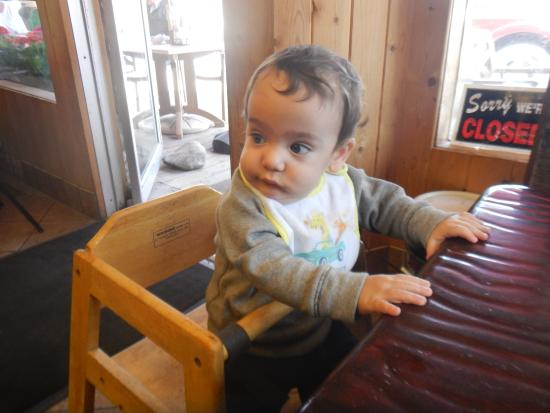 Dubois, ID: yay a high chair