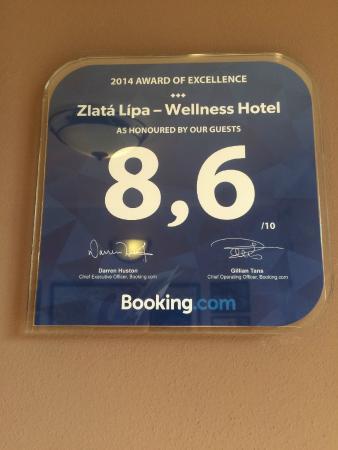 Hotel Zlata Lipa: Не верьте!!!!!