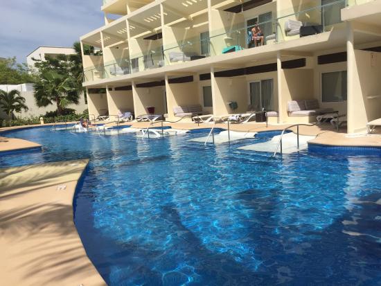 Azul Beach Resort Riviera Cancun Perfect Swim Up Rooms