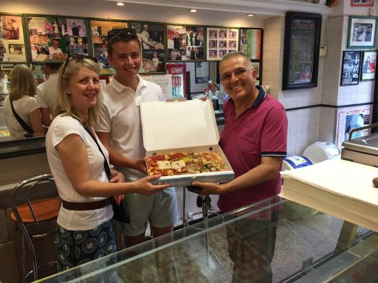 Pizza Europa Rustica: Thanks for the Pizza!! Best Pizza I have ever tasted... Honestly... Amazing!!!