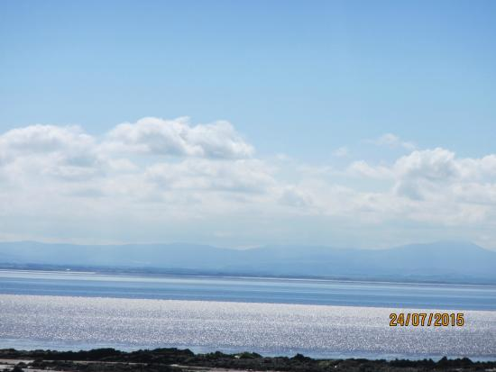 Southerness, UK: View across the Solway Firth