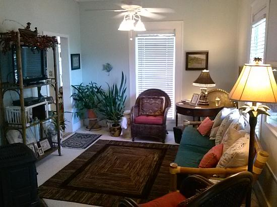 The Old Carrabelle Hotel: We redid the living room in 2014