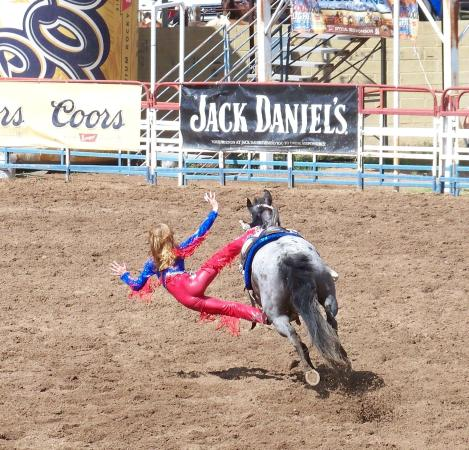 Mcmillan Family Trick Riders Age 14 Prescott Rodeo