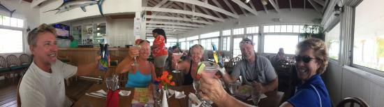 Restaurant at Orchid Bay Yacht Club and Marina: Happy Place