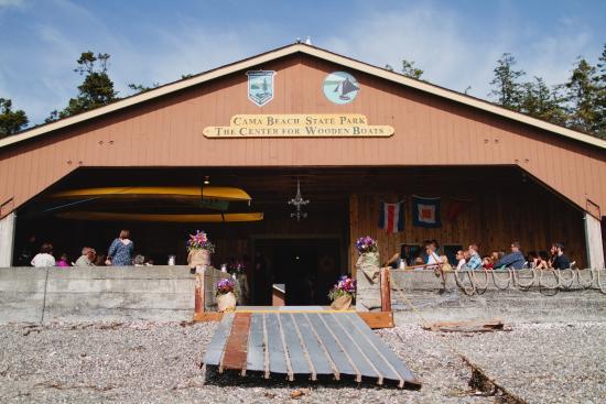 Camano Island State Park Boat House