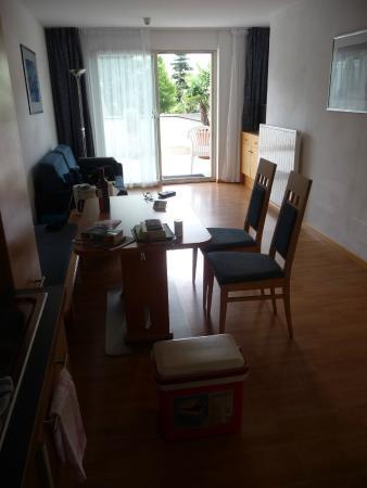 Glanzhof Wellnesshotel U0026 Residence: Essbereich Wohnzimmer