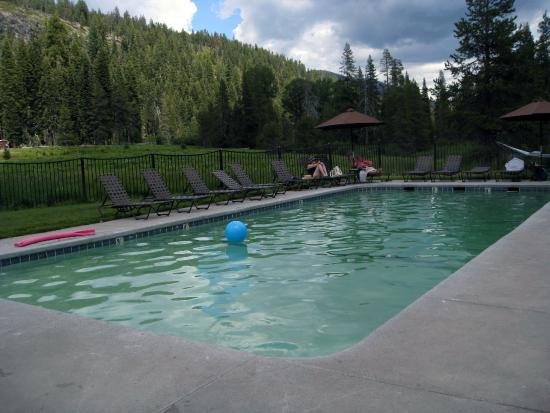 Drakesbad Guest Ranch: The Hot Springs Pool