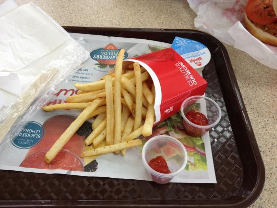 Wendys Pretty Salty French Fries