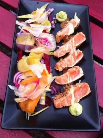 Comptoir du Vin : The salmon dish