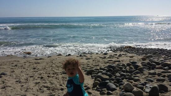 San Clemente, Californien: Down at the beach
