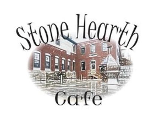 Farmington, ME: Stone Hearth Logo