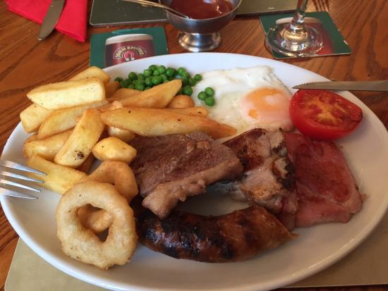 Culham, UK: Great mixed grill.....