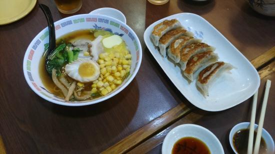 Shinjuku Ramen Restaurant: Pork Ramen and yummy Gyoza