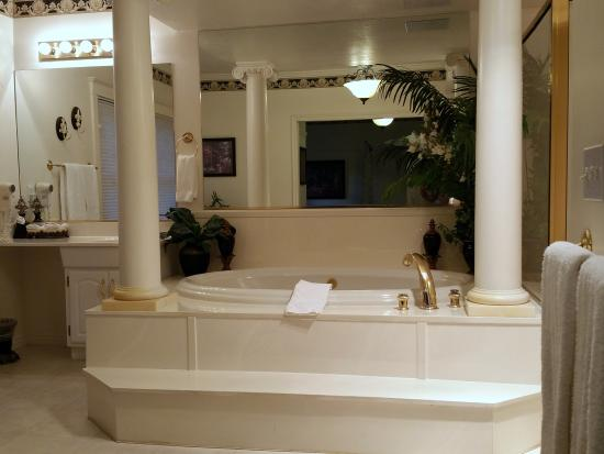 Providence, UT: You are going to LOVE this Bathroom @ the Old Mill Church Bed & Breakfast New Orleans Room @