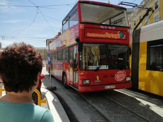 City Sightseeing Lisbon : ônibus