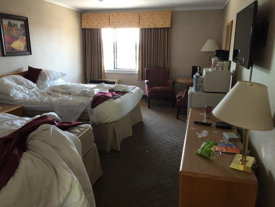 Ramada Coquitlam: Sorry about the mess!