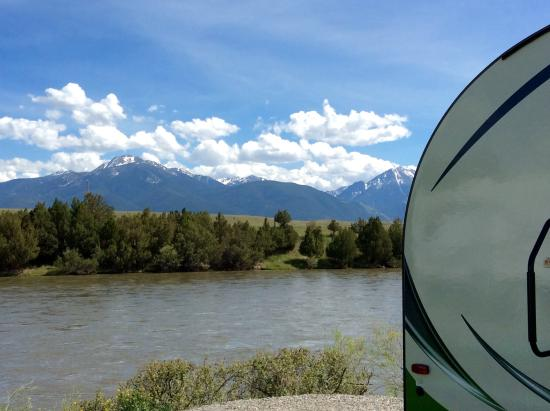 Yellowstone's Edge RV Park : View from our campsite