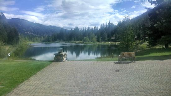 Freestone Inn : View of the lake from the inn