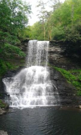 Cascade Falls : This was taken at the end of the trail.