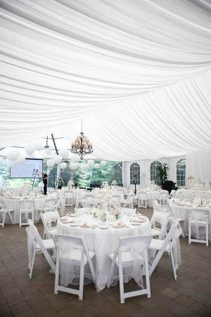 Nestleton, Canada: Tent reception