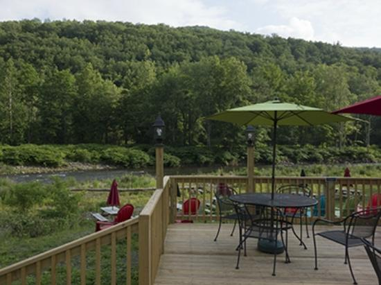 Shandaken, NY: J Rocco's deck with a view
