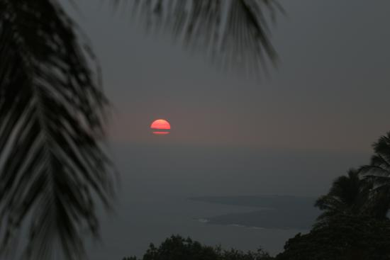 Kona Bayview Inn Bed and Breakfast: Best sunsets!!
