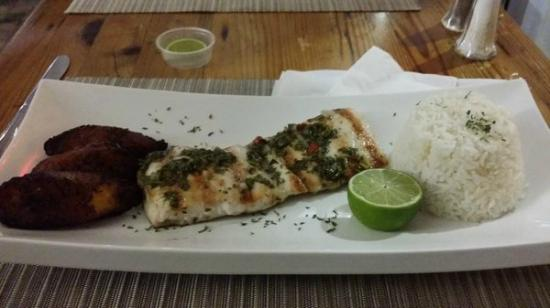 Ceviche y Grille: Grilled Mahi Sweet Plantains
